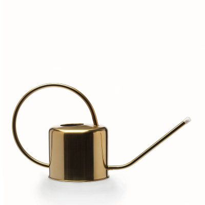 watering can messing copper gold